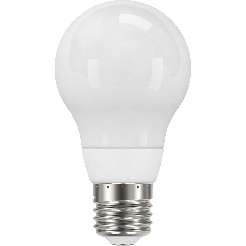 ampoule standard led 5w 470lm quiv 40w e27 4000k 300 lexman leroy merlin. Black Bedroom Furniture Sets. Home Design Ideas