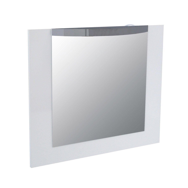 Miroir avec clairage int gr image leroy merlin for Miroir leroy merlin