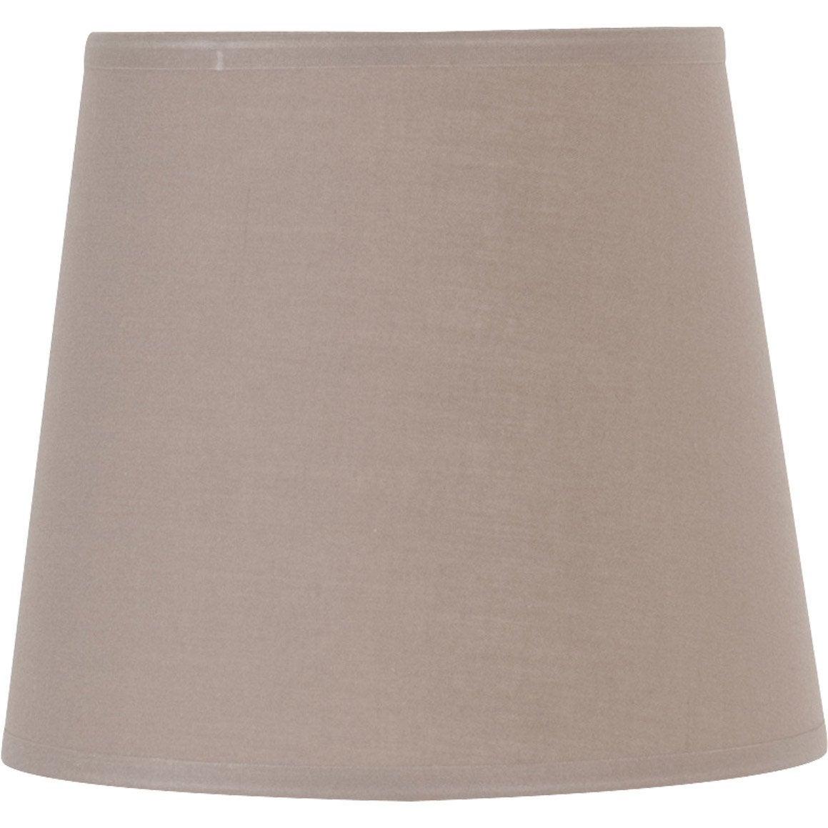 abat jour conique 14 cm toiline brun taupe n 3 inspire. Black Bedroom Furniture Sets. Home Design Ideas