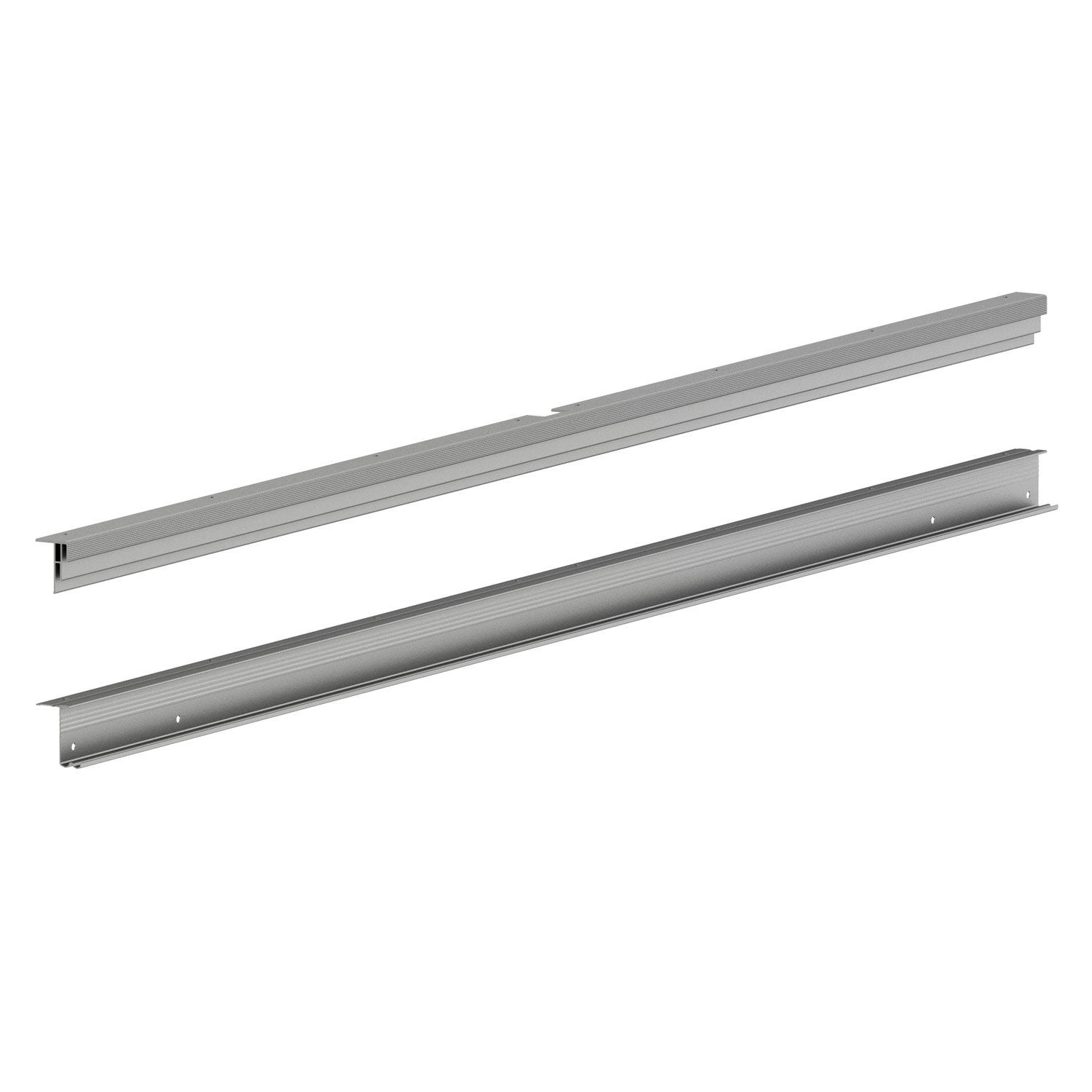 Rail coulissant pour porte spaceo home x cm - Rail porte coulissante leroy merlin ...