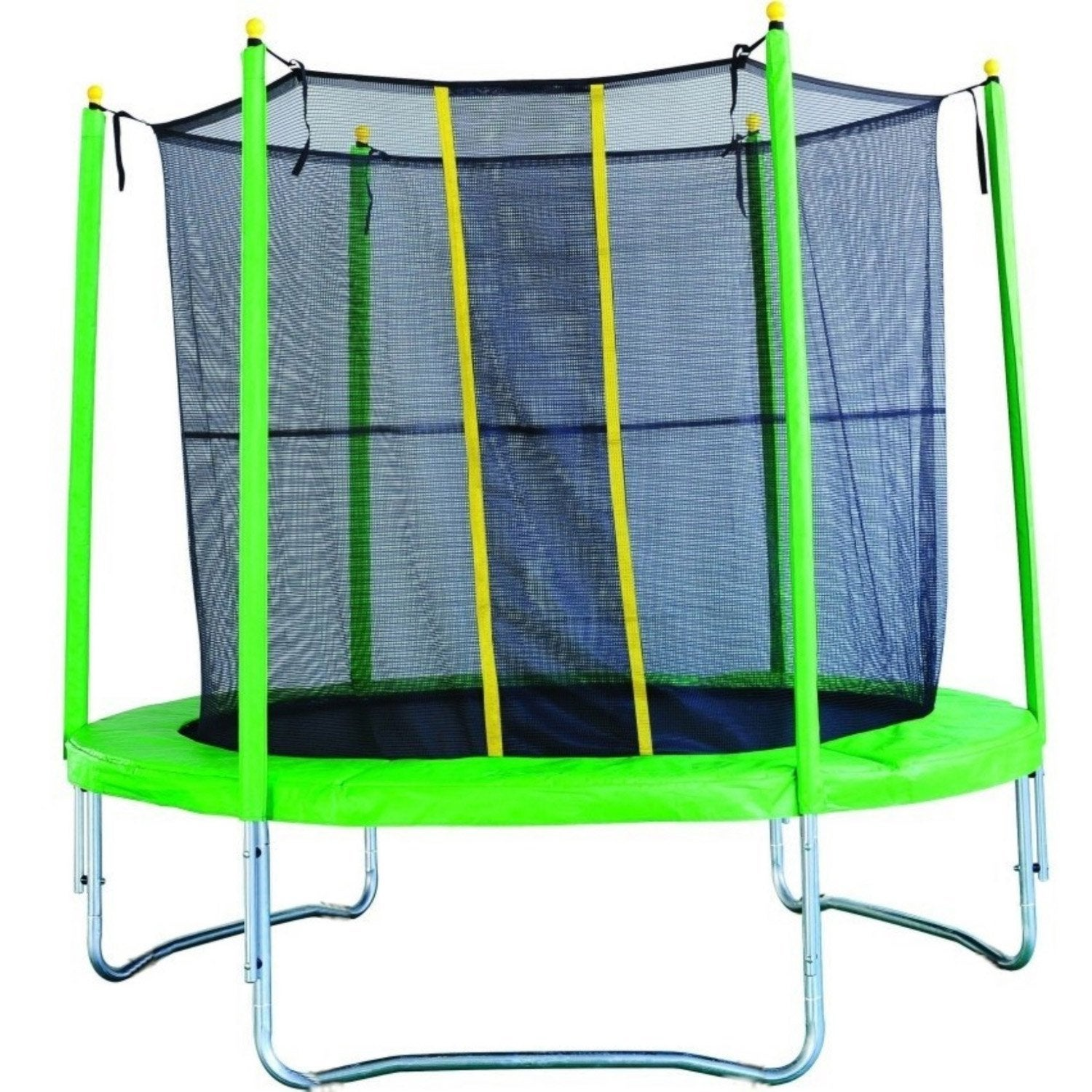 Trampoline et filet int rieur 250 cm leroy merlin for Trampoline interieur