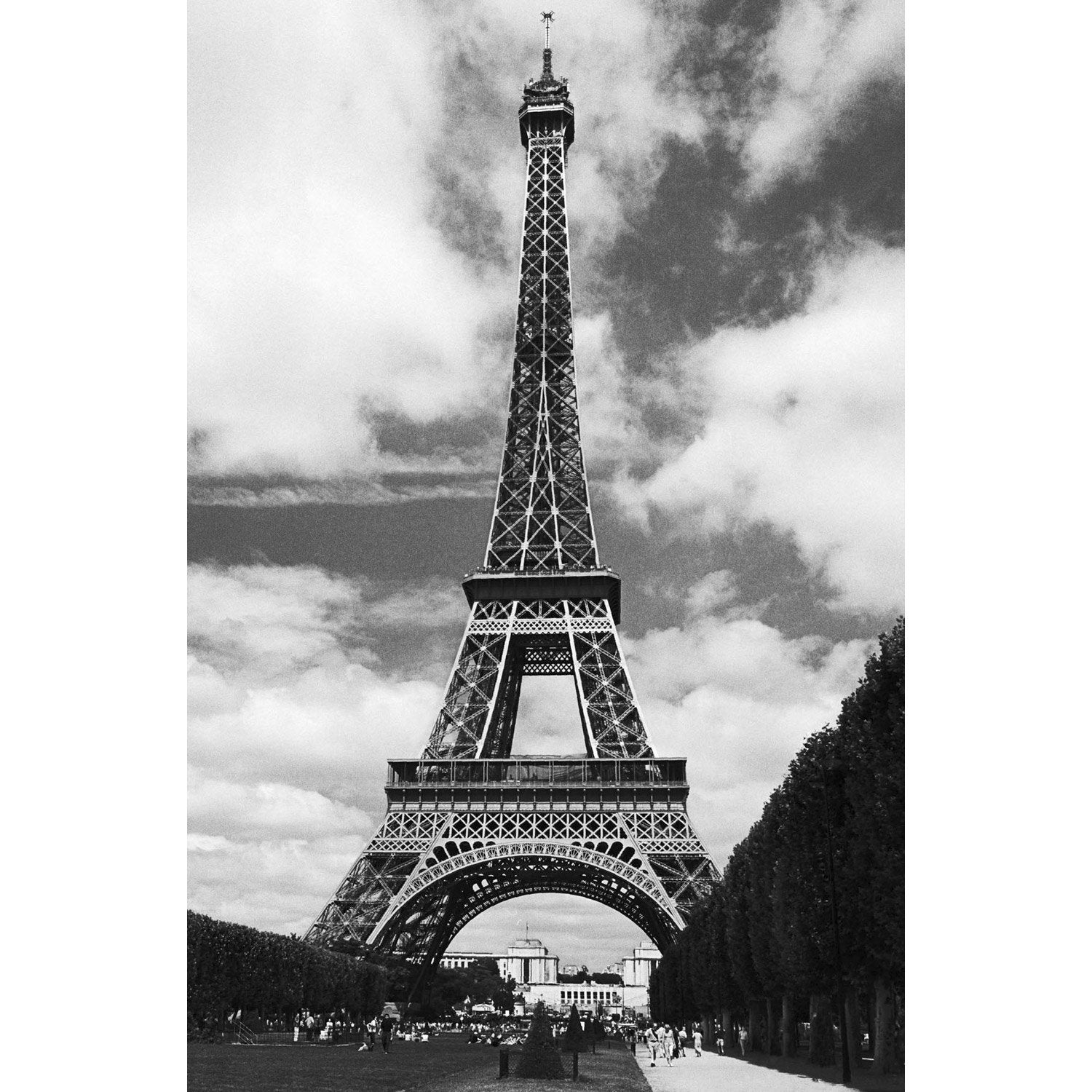 poster tour eiffel x cm leroy merlin. Black Bedroom Furniture Sets. Home Design Ideas