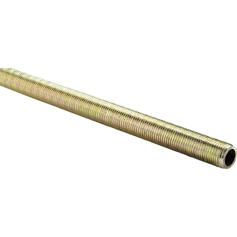 Lampe Bois Leroy Merlin : filet?e acier bichromat?, L.1000 x Diam.10 mm, ALFER Leroy Merlin