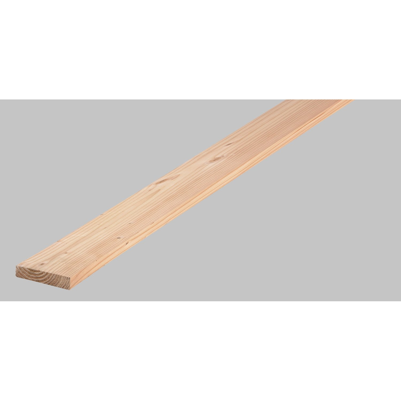 Planche douglas petits noeuds rabot 200x28 mm long for Planche douglas castorama