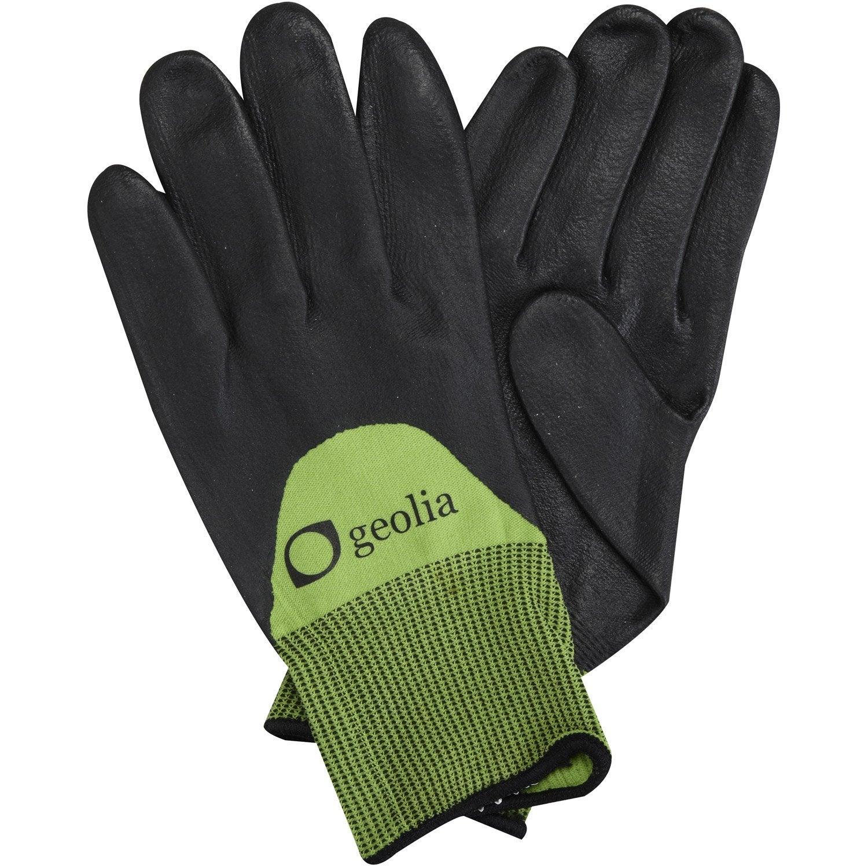 gants de plantation geolia vert taille 8 m leroy merlin. Black Bedroom Furniture Sets. Home Design Ideas