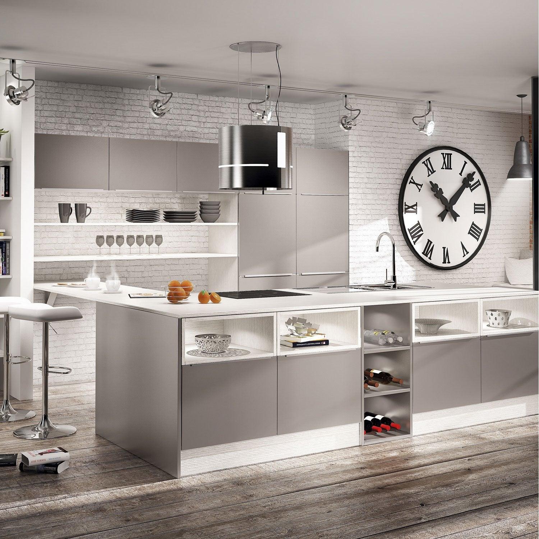 meuble de cuisine ingenious composition type aliz. Black Bedroom Furniture Sets. Home Design Ideas