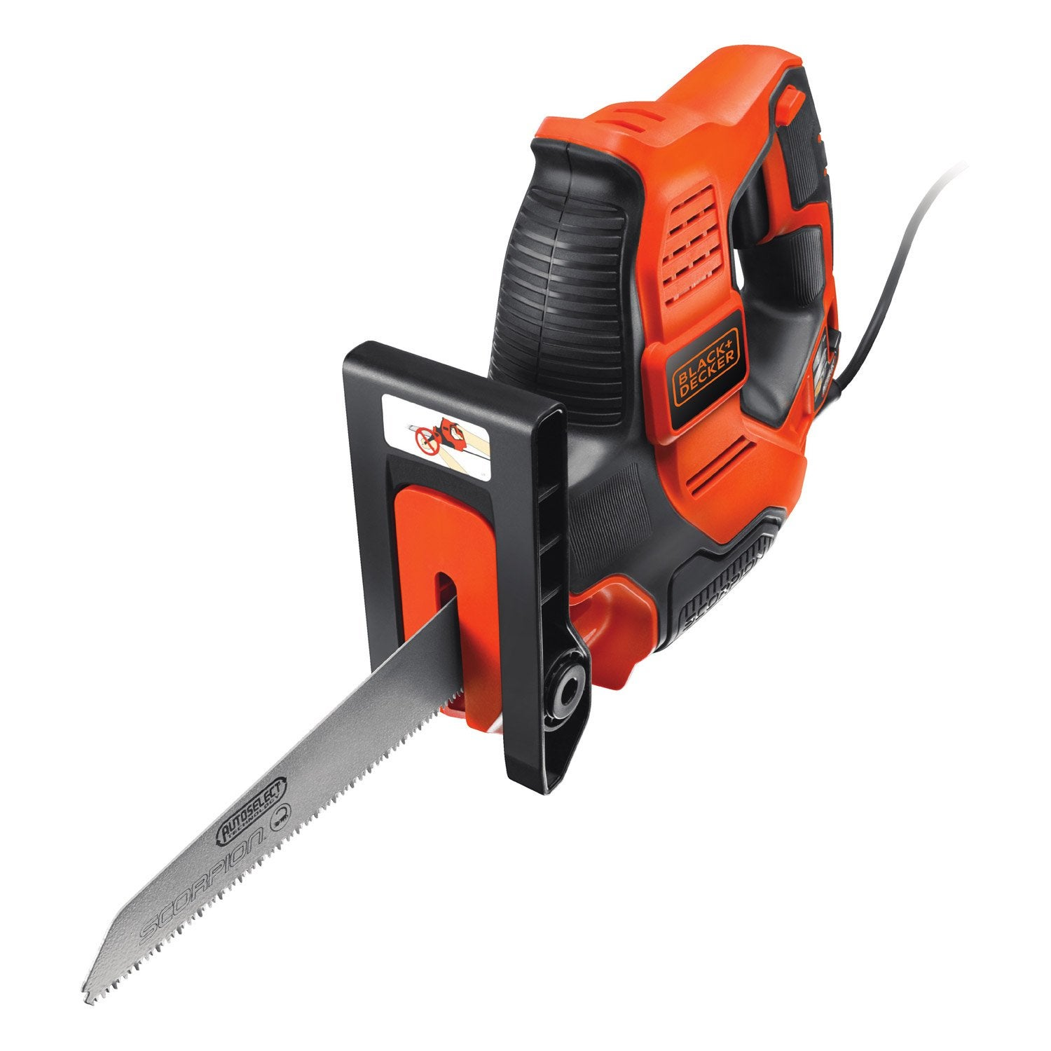 Scie sabre black decker rs890k scorpion 500 w leroy merlin - Decapeur thermique black et decker ...