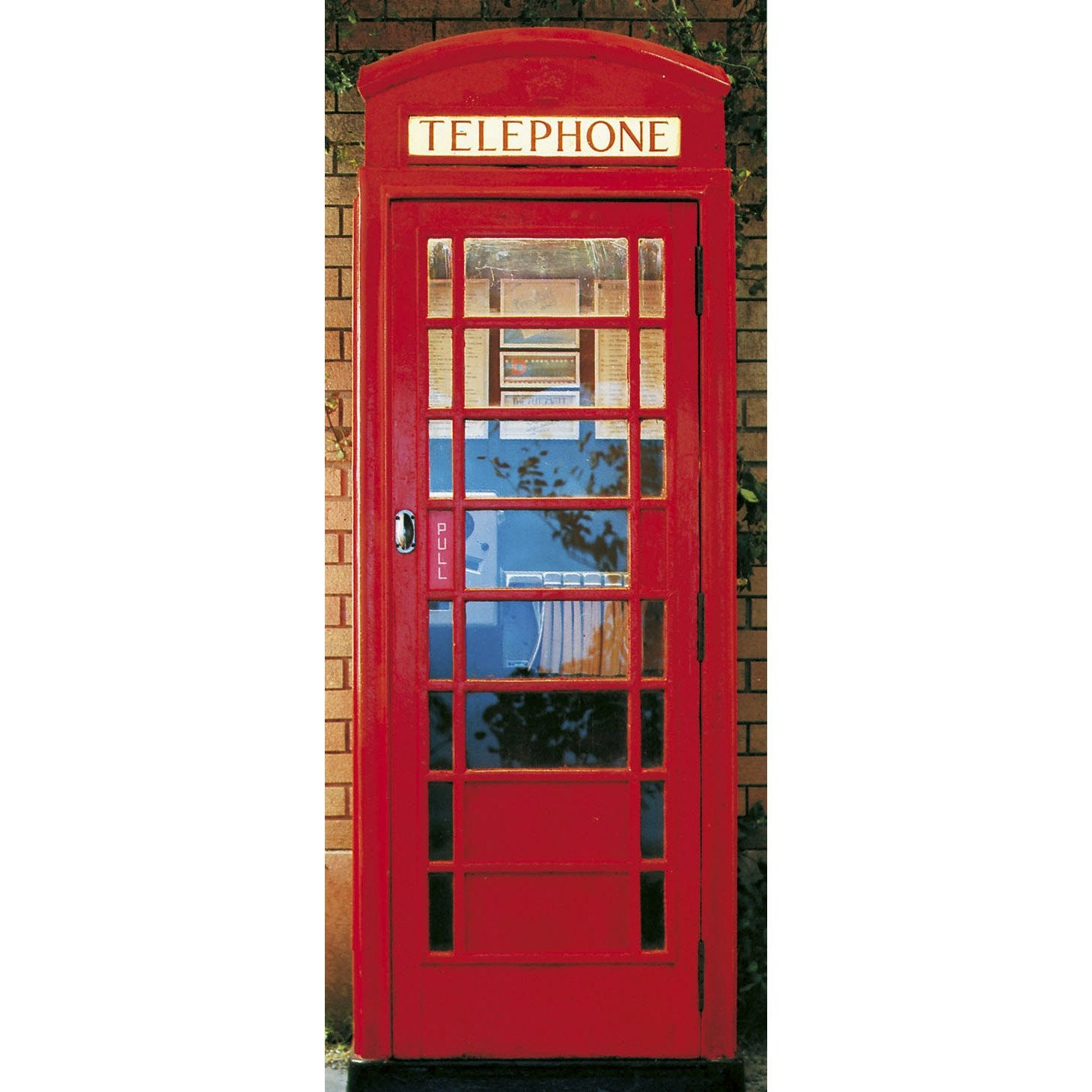 poster de porte telephone box 86x200 cm leroy merlin. Black Bedroom Furniture Sets. Home Design Ideas