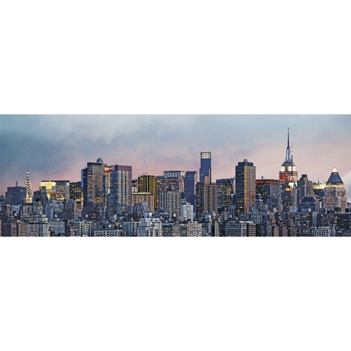 Poster xxl de mur new york 366 x 127 cm leroy merlin - Cadre new york leroy merlin ...
