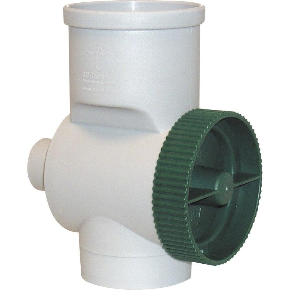 Collecteur d 39 eau de pluie pro 3p gris garantia leroy merlin - Recuperateur eau de pluie leroy merlin ...