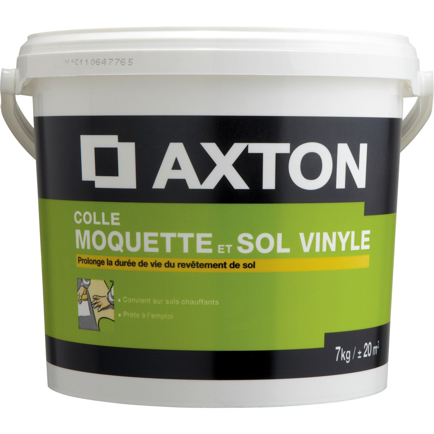 Colle sol souple 7 kg axton leroy merlin for Sol pvc sans colle