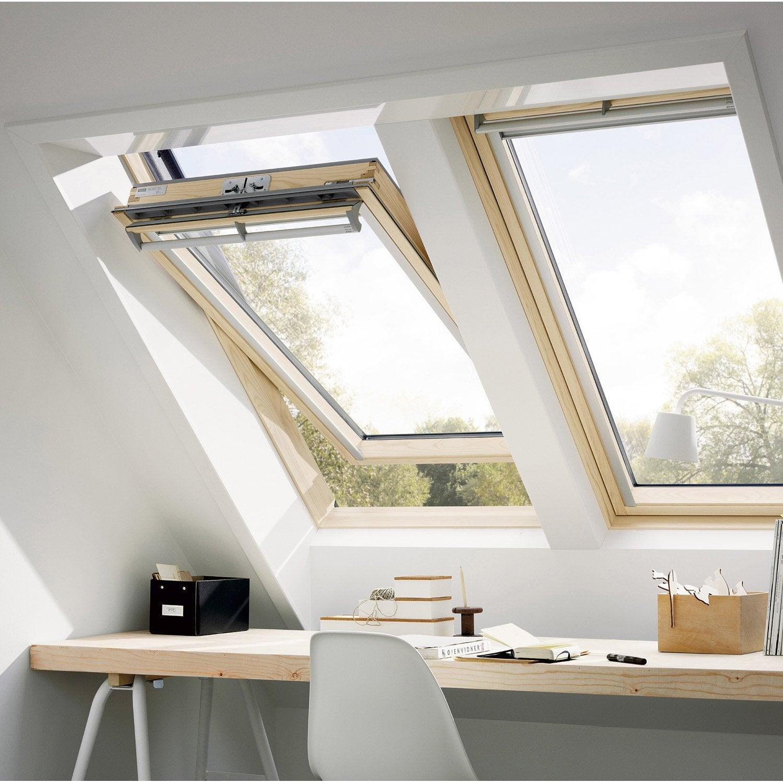 Remplacement l 39 identique de fen tre de toit 78x98cm for Pose de fenetre de toit