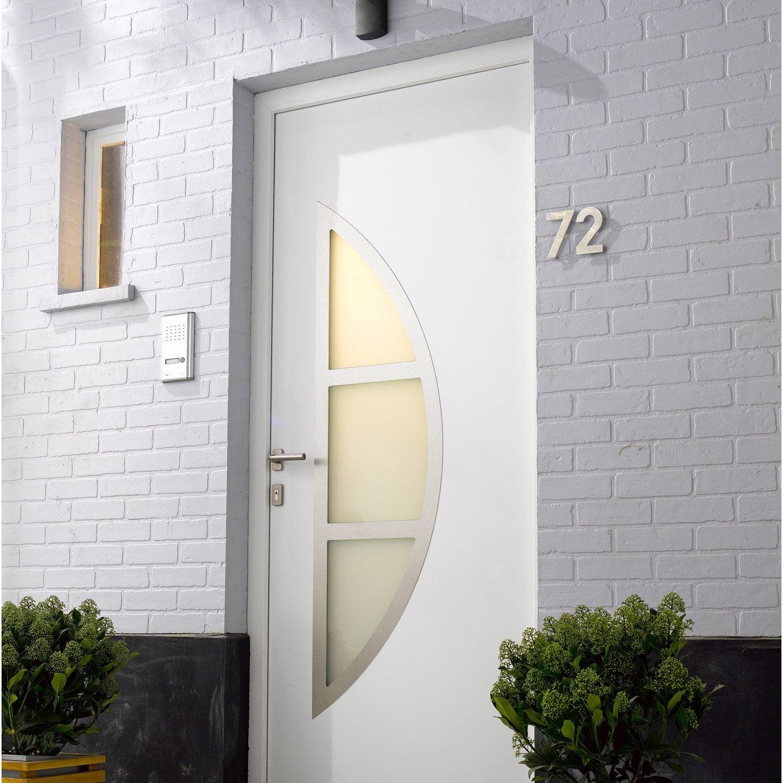Remplacement d 39 une porte d 39 entr e en d pose totale par - Porte d entree bois vitree leroy merlin ...