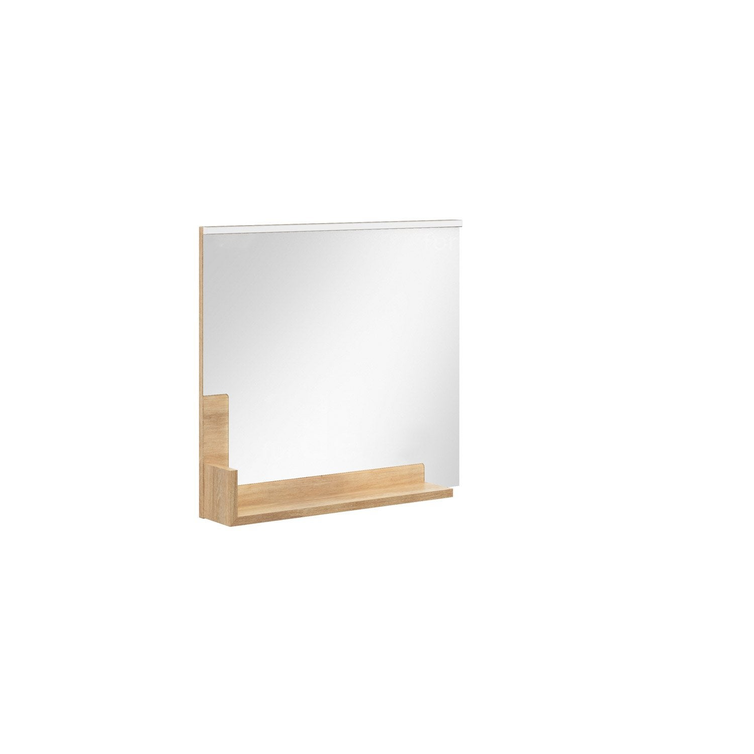 Miroir avec tablette conceptions de maison for Miroir warren silex