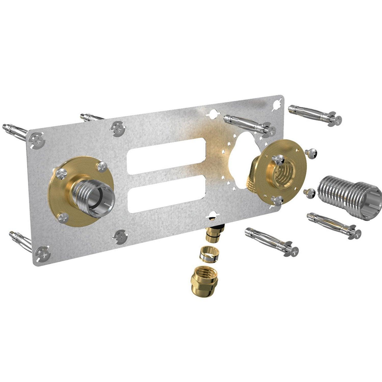 Kit d 39 installation femelle compression pour tube per for Kit placas solares leroy merlin