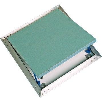 trappe de visite en aluminium pour plaques hydrofuge standers 60x60cm leroy merlin. Black Bedroom Furniture Sets. Home Design Ideas