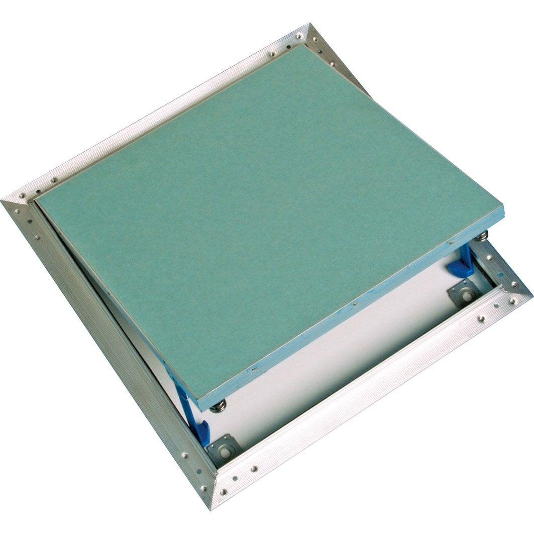 Trappe de visite alu hydro carreler ou preindre 40 x 40 cm standers leroy merlin Trappe de visite pour baignoire