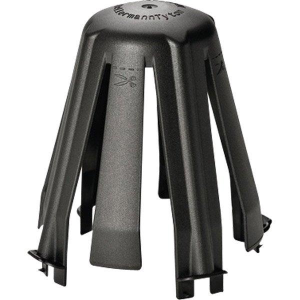 lot de 3 cloches de protection pour spot fixe encastrer spotclip iiw noir leroy merlin. Black Bedroom Furniture Sets. Home Design Ideas