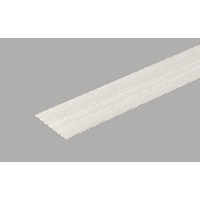 Profil de d part et finition pour lambris pvc 5 5 x 1 cm for Profil de finition pvc