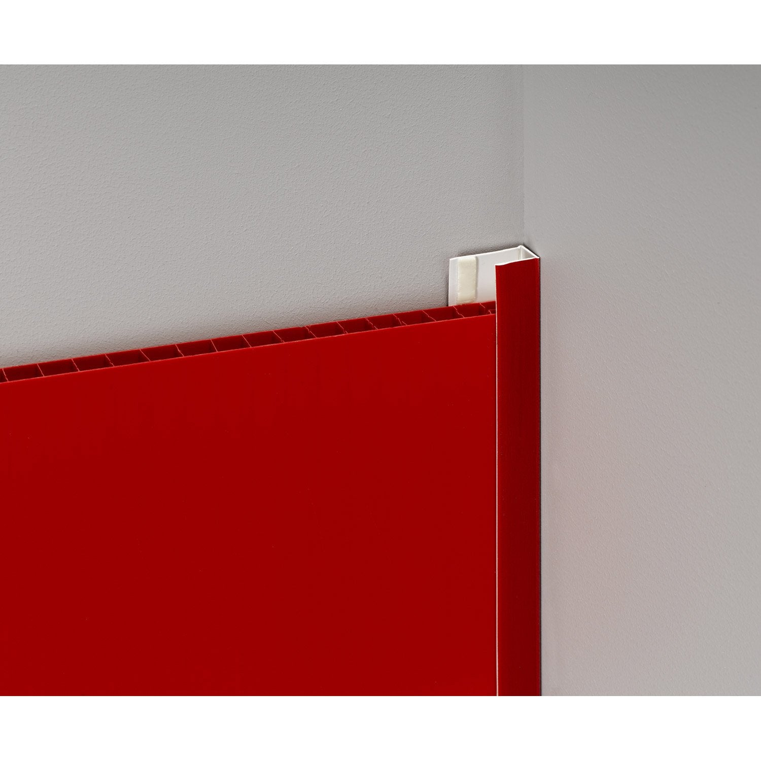 Profil de d part et finition pvc rouge leroy merlin - Canisse pvc leroy merlin ...