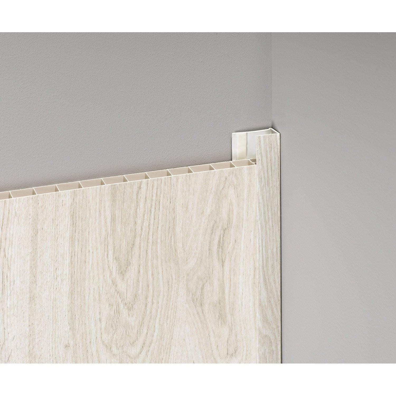 Profil de d part et finition pvc bois clair for Profil de finition pvc