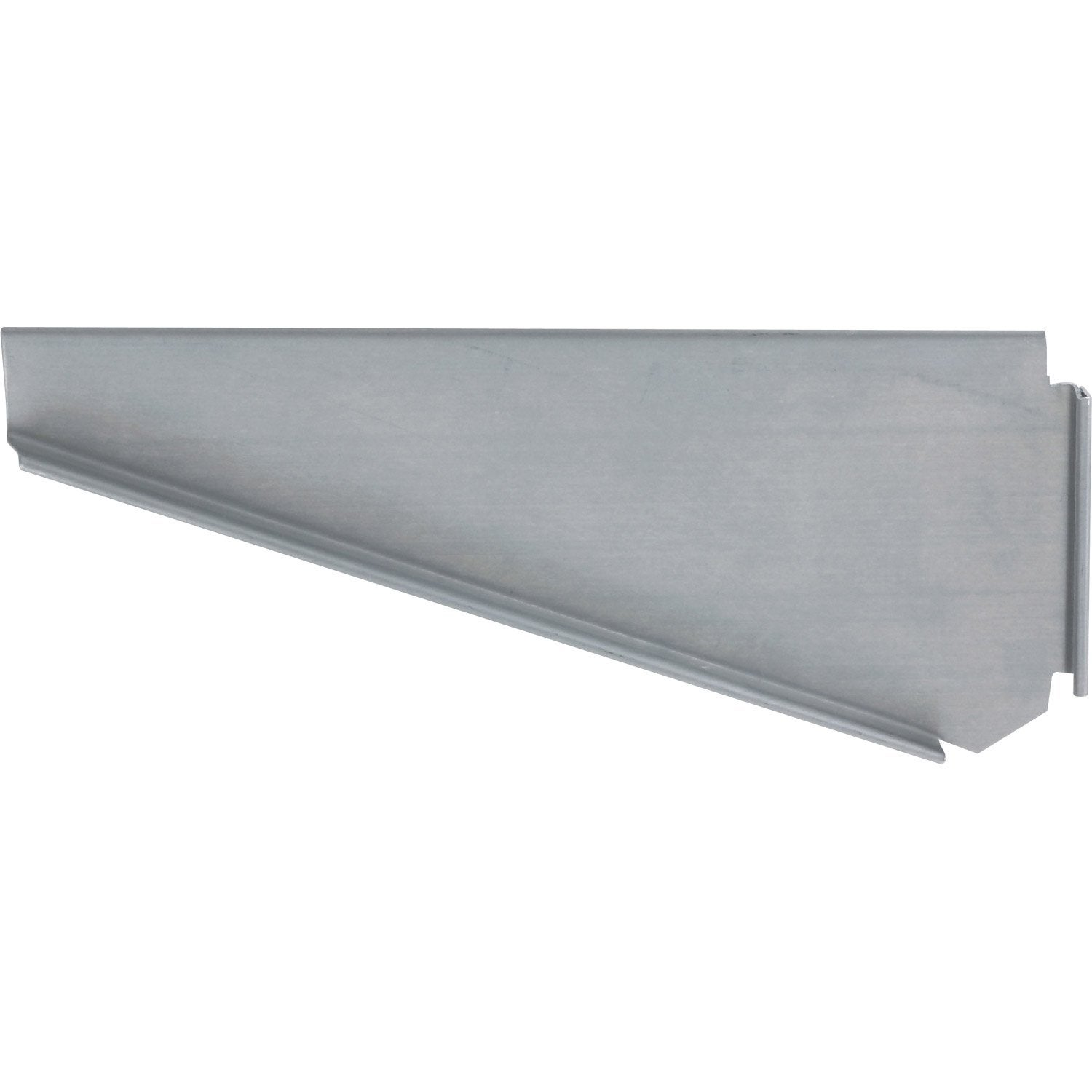 Talon gauche embo table pour goutti re nantaise gris zinc for Table exterieur zinc