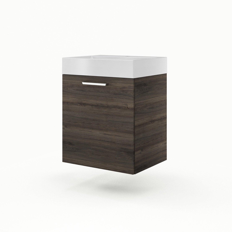 meuble vasque 60 cm neo line leroy merlin. Black Bedroom Furniture Sets. Home Design Ideas