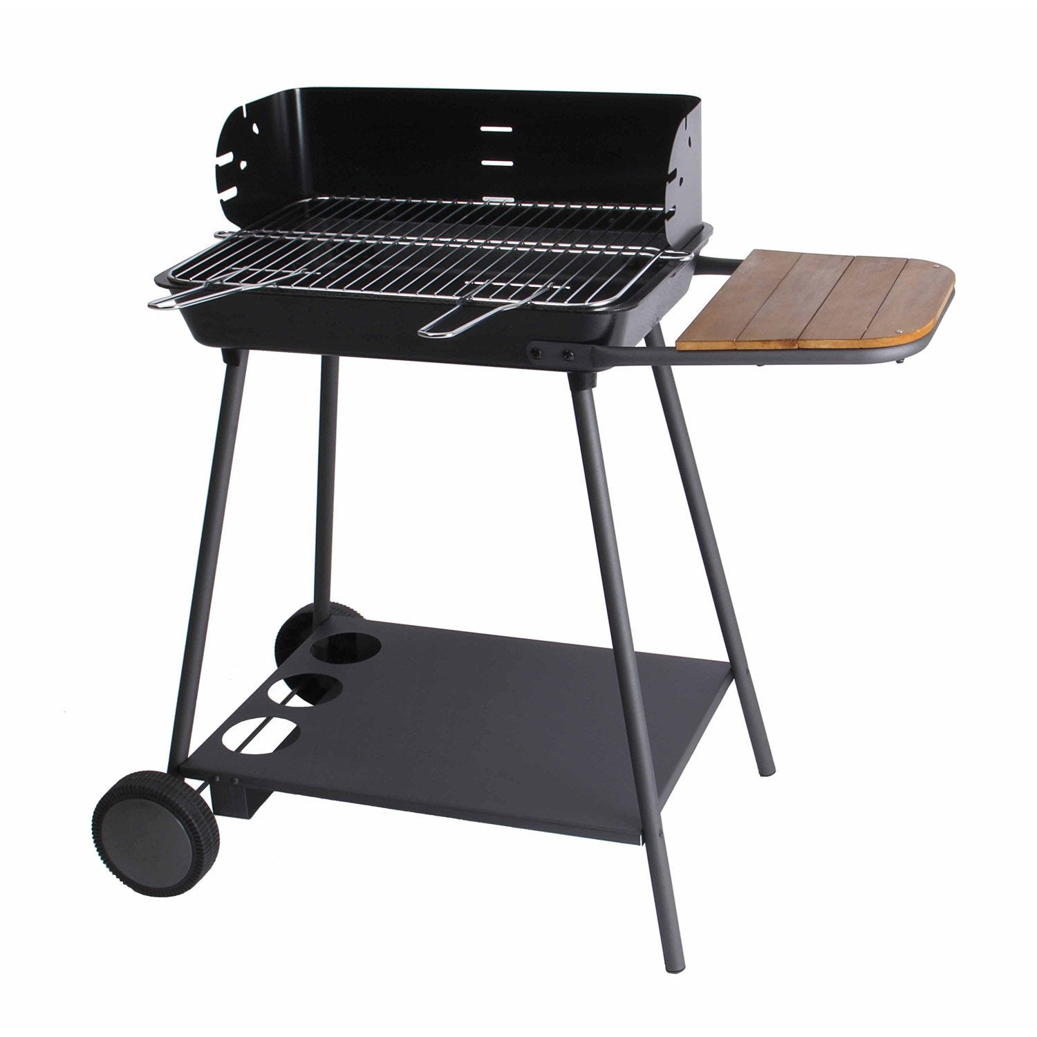 Barbecue au charbon de bois ibiza leroy merlin - Barbecue de table charbon ...
