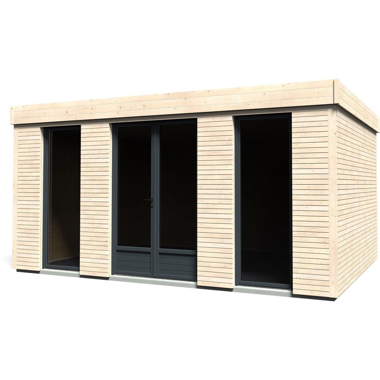 Abri de jardin bois decor home m mm leroy for Abri de jardin bois leroy merlin