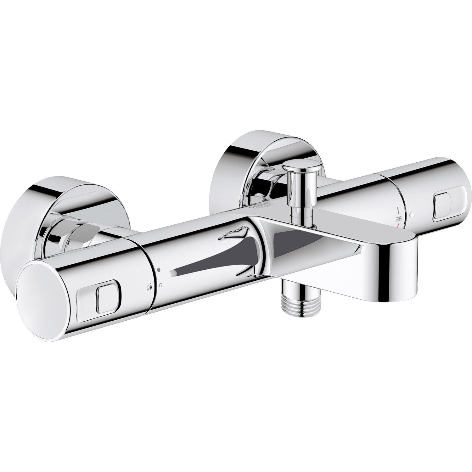 Colonne douche thermostatique brico depot - Mitigeur bain douche thermostatique grohe ...