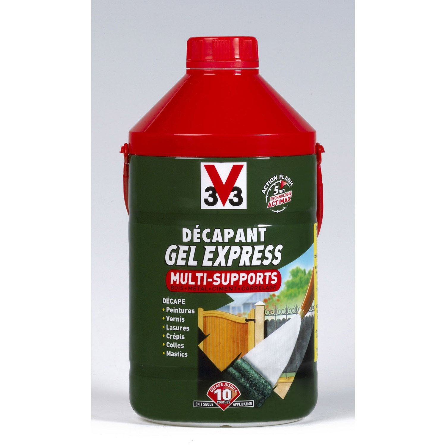 D capant multisupport v33 gel express 2 l leroy merlin for Peinture bio leroy merlin
