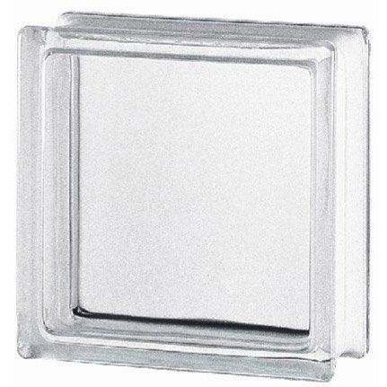 brique de verre transparent lisse brillant leroy merlin. Black Bedroom Furniture Sets. Home Design Ideas