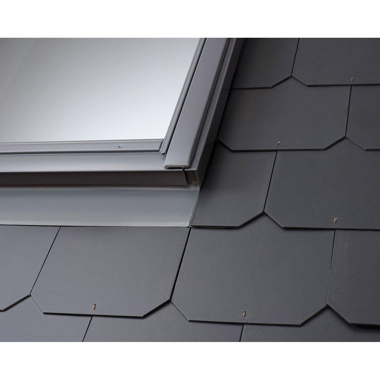 raccord pour fen tre de toit velux edl ck02 gris leroy merlin. Black Bedroom Furniture Sets. Home Design Ideas