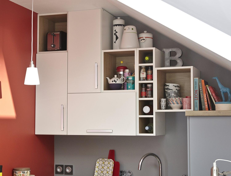 Une cuisine astucieuse pour les petites surfaces - Cuisine pour petite surface ...