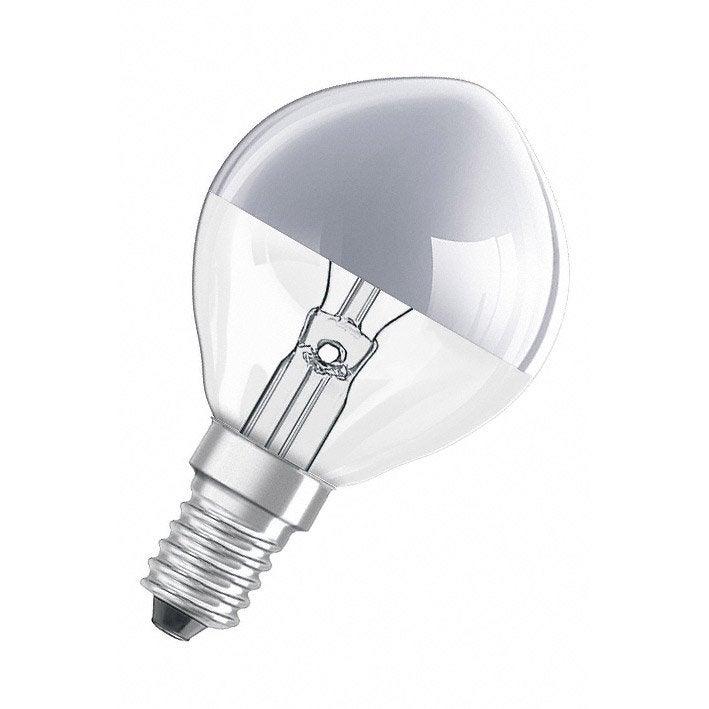 Ampoule Sph Rique Incandescent 40w Osram E14 Lumi Re Chaude Env 2700k Leroy Merlin