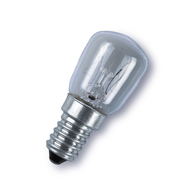 Ampoule Incandescente Pour Machine Coudre 15w E14 2700k Osram Leroy Merlin