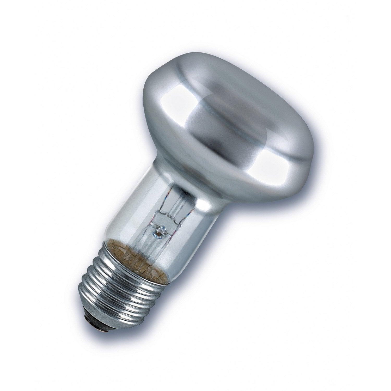Ampoule R Flecteur Incandescent 60w Osram E27 Lumi Re Chaude Env 2700k Leroy Merlin