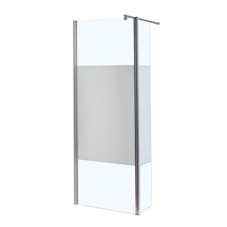 Paroi de douche l 39 italienne 30 cm verre for Paroi douche italienne 70 cm
