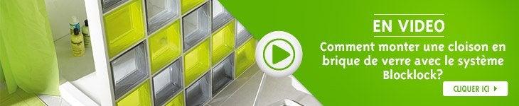 1 comment poser des briques de verre avec un kit bloc lock. Black Bedroom Furniture Sets. Home Design Ideas