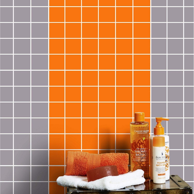 mosa que mur astuce orange orange n 3 leroy merlin. Black Bedroom Furniture Sets. Home Design Ideas