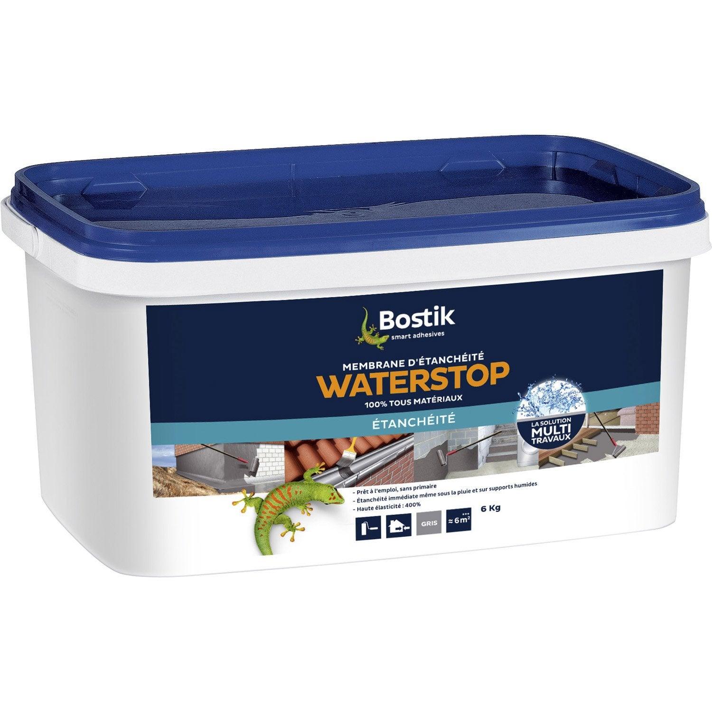 rev tement d 39 tanch it water stop bostik gris 6kg leroy merlin. Black Bedroom Furniture Sets. Home Design Ideas