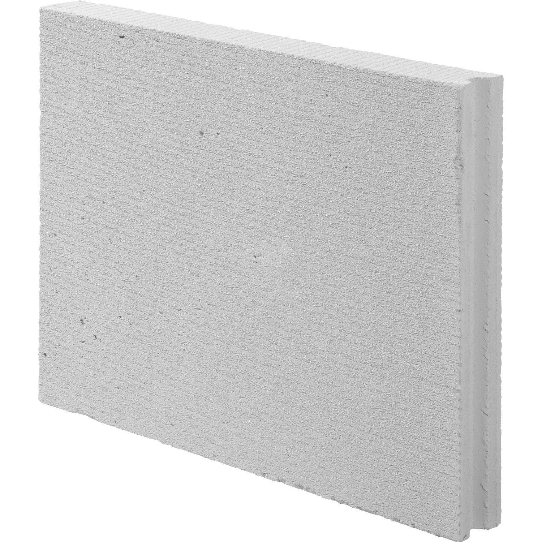 Carreau de b ton cellulaire x x cm axton for Table beton cellulaire