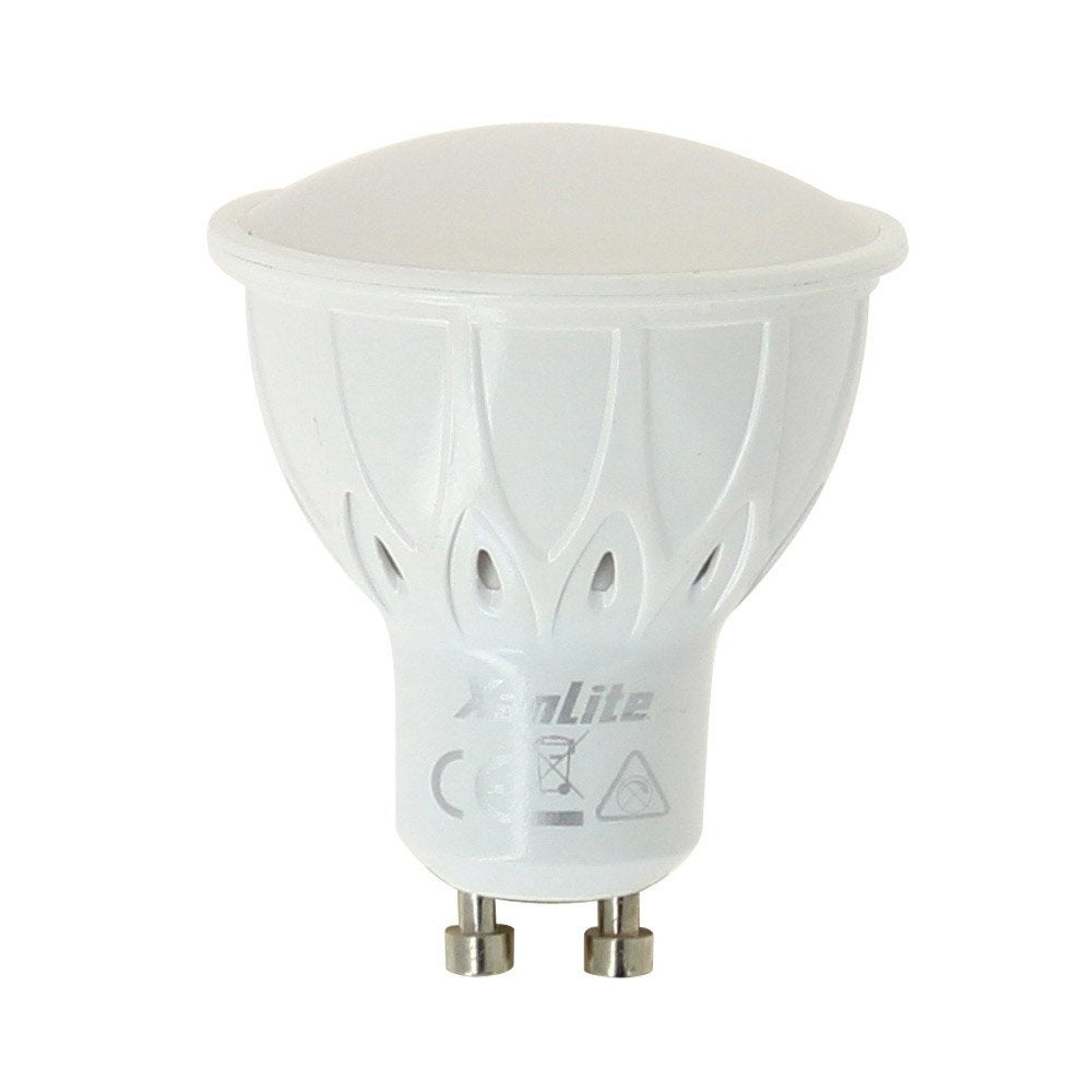 ampoule led 5 5w 345 lm quiv 50w gu10 temp rature. Black Bedroom Furniture Sets. Home Design Ideas