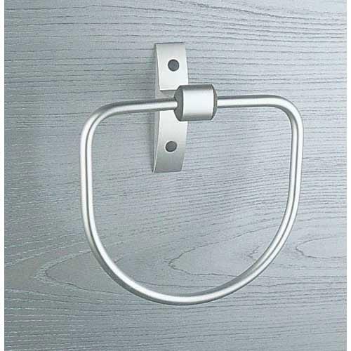 Porte serviettes 1 anneau design chrom leroy merlin - Leroy merlin porte serviette ...