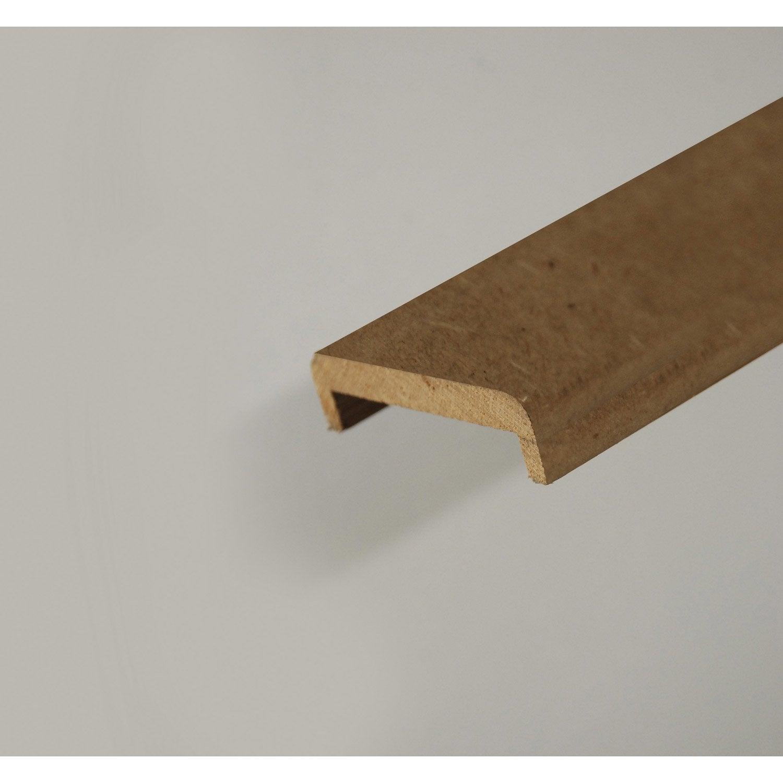 nez de cloison m dium mdf 88 x 24 mm leroy merlin. Black Bedroom Furniture Sets. Home Design Ideas