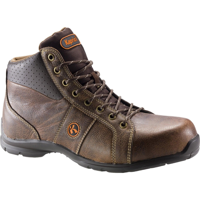 chaussures de s curit kapriol foster coloris marron t44 leroy merlin. Black Bedroom Furniture Sets. Home Design Ideas