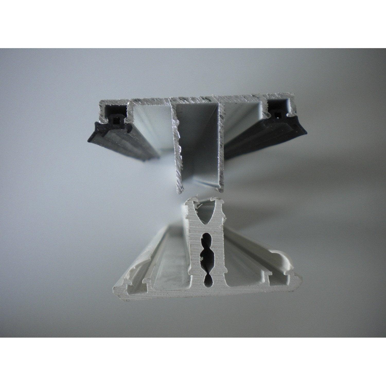 Profil jonction aluminium blanc 3 m leroy merlin - Prieel aluminium leroy merlin ...