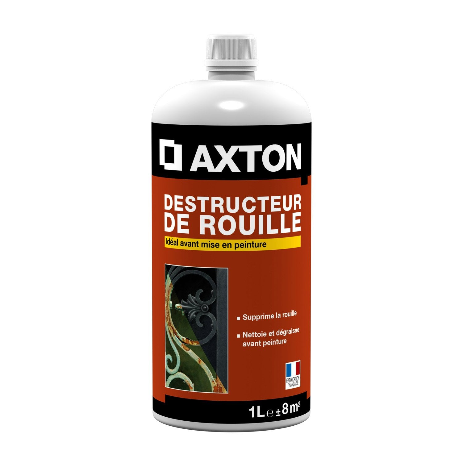 Destructeur de rouille ext rieur axton 1 l leroy merlin for Produit anti punaise de lit leroy merlin