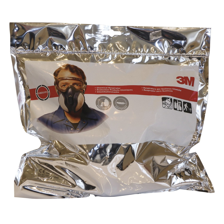masque de protection sp cial produits chimiques 3m protect leroy merlin. Black Bedroom Furniture Sets. Home Design Ideas