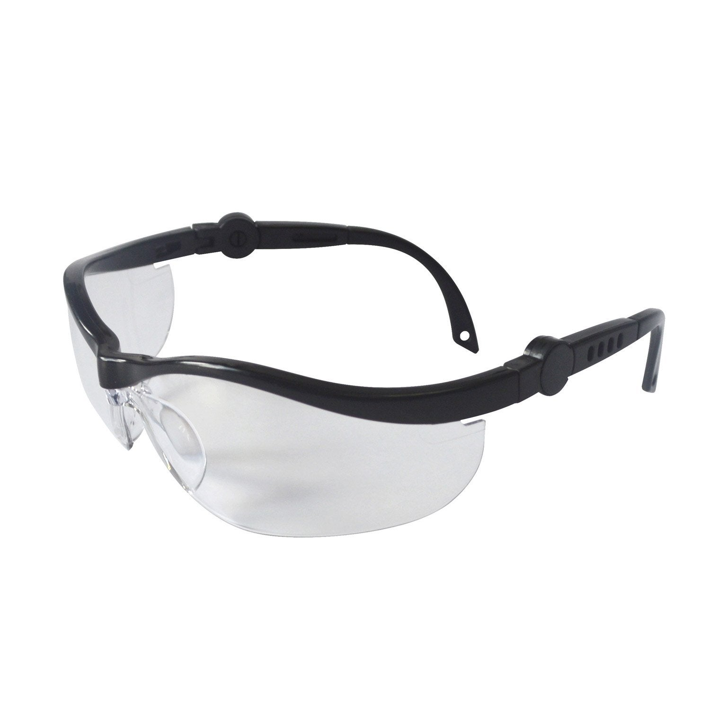 lunettes de protection dexter verre incolore leroy merlin. Black Bedroom Furniture Sets. Home Design Ideas